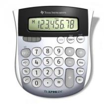 CALCULATOR BIROU TEXAS INSTRUMENTS TI-1795 SV 8-DIGIT ANGLED LCD