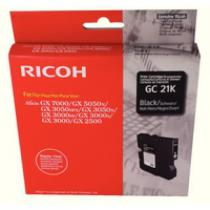 CARTUS GEL BLACK GC-21K 405532 1,5K ORIGINAL RICOH GX3000