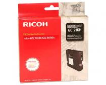 CARTUS GEL BLACK GC-21KHY 405536 3K ORIGINAL RICOH AFICIO GX7000