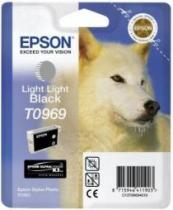 CARTUS LIGHT LIGHT BLACK C13T09694010 11,4ML ORIGINAL EPSON STYLUS PHOTO R2880