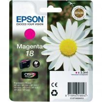 CARTUS MAGENTA NR.18 C13T18034010 3,3ML ORIGINAL EPSON XP-102