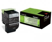 CARTUS TONER BLACK RETURN NR.702HK 70C2HK0 4K ORIGINAL LEXMARK CS310N
