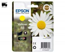 CARTUS YELLOW NR.18 C13T18044010 3,3ML ORIGINAL EPSON XP-102
