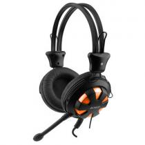 CASTI A4TECH CU MICROFON HS-28-3 ORANGE/BLACK