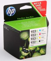 COMBO PACK NR.932XL BLACK+NR.933XL CMY C2P42AE ORIGINAL HP OFFICEJET 6100