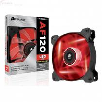 COOLER CORSAIR AF120 LED RED QUIET EDITION CO-9050016-RLED
