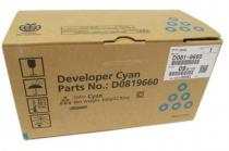 DEVELOPER CYAN D0819660 450K ORIGINAL RICOH AFICIO MP C6501SP