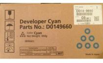 DEVELOPER CYAN D1449660 240K ORIGINAL RICOH AFICIO MP C3502AD