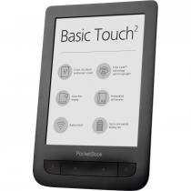 E-BOOK READER POCKETBOOK BASIC TOUCH 2+SLIM COVER WIFI 8GB 6