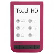 E-BOOK READER POCKETBOOK TOUCH HD 2 WIFI 8GB E INK RUBY RED PB631-2-R-WW