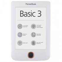 E-BOOK READER POCKETBOOK WIFI E INK 8GB BASIC 3 WHITE PB614W-2-D-WW