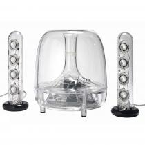 HARMAN KARDON SOUNDSTICKS 3 40W RMS TRANSPARENT