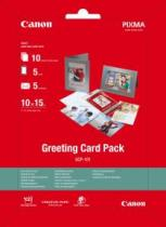 HARTIE CERNEALA CANON GREETING CARD PACK GCP101 10X15