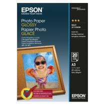 HARTIE CERNEALA EPSON GLOSSY PHOTO A3 20 COLI 200G
