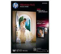 HARTIE CERNEALA HP PREMIUM PLUS GLOSSY PHOTO WHITE 300G A4 20COLI