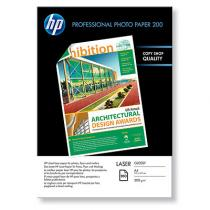 HARTIE LASER HP PROFESSIONAL GLOSSY PHOTO 200G A4 100 COLI CG966A