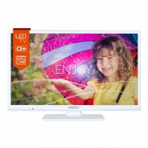 Televizor LED Horizon 60 cm HD, USB, CI+, White