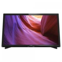 Televizor LED Philips 60 cm HD 24PHH4000/88, USB, CI+, Black