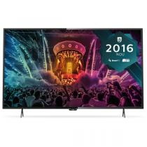 Televizor Smart LED Philips 108 cm Ultra HD/4K 43PUH6101, Dual Core, WiFi, USB, CI+, Black - RESIGILAT