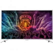 Televizor Smart LED Philips 139 cm Ultra HD 55PUS6561/12, WiFi, USB, CI+, Android, Silver