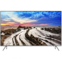Televizor Smart LED Samsung 165 cm Ultra HD UE65MU7002, WiFi, USB, CI+, Silver