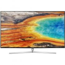 Televizor Smart LED Samsung 165 cm Ultra HD UE65MU8002, WiFi, USB, Silver