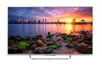 Televizor Smart LED Sony 108 cm Full HD 43W756CSAEP, WiFi, USB, CI+, NFC, Android OS, Silver