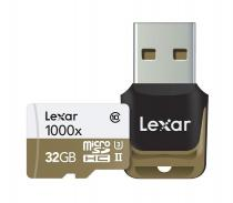 MICRO SD LEXAR 32GB MSDHC CLASS 10 UHS-II 150MB/S + READER