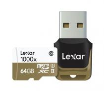MICRO SD LEXAR 64GB MSDHC CLASS 10 UHS-II 150MB/S + READER