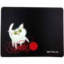 MOUSE PAD SERIOUX MODEL CAT AND BALL OF YARN SRXA-MSP01