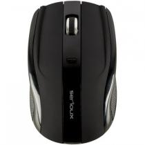 MOUSE SERIOUX RAINBOW 400 USB BLACK SRXM-RBM400W-BK