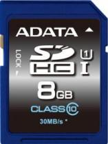SECURE DIGITAL A-DATA PREMIER SDHC 8GB UHS-I U1 CLS 10