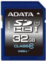SECURE DIGITAL A-DATA PREMIER SDHC UHS-I U1 32GB CLASS 10