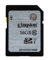 SECURE DIGITAL KINGSTON 16GB SDHC CLASA 10 UHS-I SD10VG2/16GB