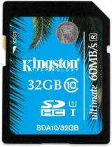 SECURE DIGITAL KINGSTON 32GB SDHC UHS-I CLASS 10