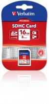 SECURE DIGITAL VERBATIM 16GB SDHC CLASS 10 43962
