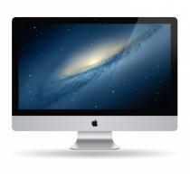 SISTEM ALL-IN-ONE APPLE IMAC INTEL DUAL CORE I5 21.5