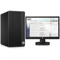 SISTEM DESKTOP HP 290 G1 INTEL I3-7100 + MONITOR 18.5