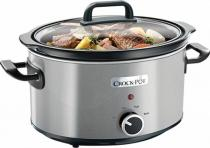 SLOWCOOKER CROCK-POT 3.5L BRUSHED INOX 210W CSC025X-DIM