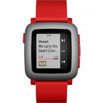 SMARTWATCH PEBBLE TIME 501-00022 RED