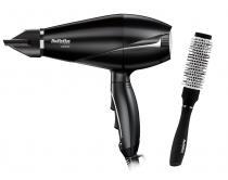 USCATOR DE PAR BABYLISS LE PRO LIGHT 2000W BLACK + STYLING BRUSH 28MM